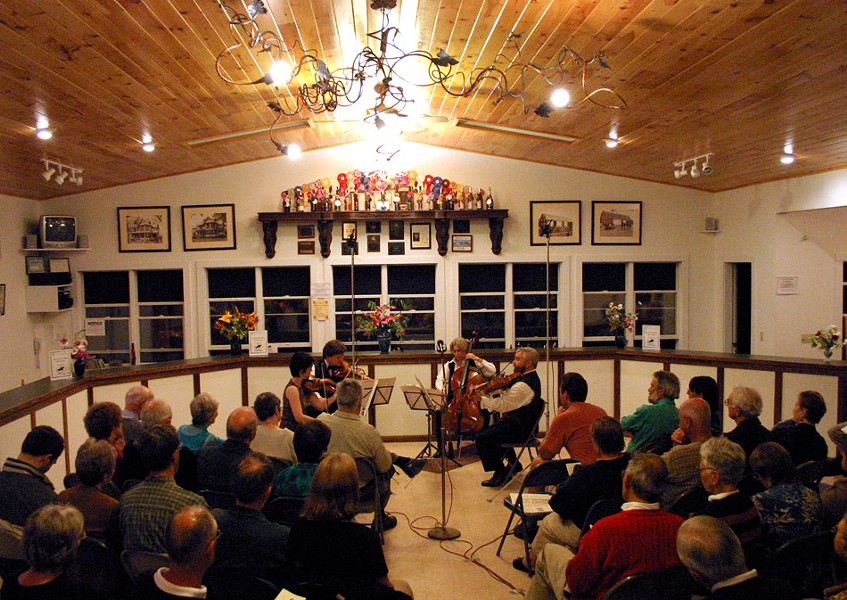 The Finger Lakes Chamber Music Festival has performances at various locations in the Finger Lakes June through August. - PHOTO BY HOWARD LEVANT