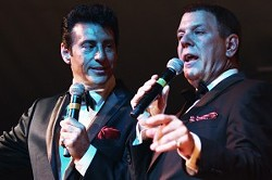The Frank Sinatra/Dean Martin tribute show was part of Festa Italia in East Rochester June 9-10. PHOTO BY FRANK DE BLASE