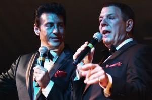 The Frank Sinatra/Dean Martin tribute show was part of Festa Italia in East Rochester June 9-10. PHOTO BY FRANK DE BLASE
