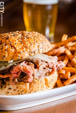 The French Dip sandwich. - PHOTO BY MARK CHAMBERLIN