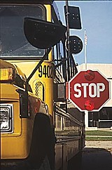 The friendly school bus: Does the big yellow bus give bad-air days?