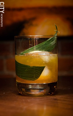 The Hammock cocktail. - PHOTO BY MARK CHAMBERLIN