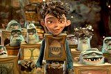 "PHOTO COURTESY FOCUS FEATURES - The human-boxtroll Eggs in ""The Boxtrolls."""