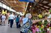 The Ithaca Farmers' Market.