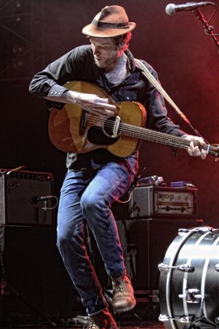 The Lumineers headlined the show Friday, June 7, at CMAC. - PHOTO BY FRANK DE BLASE