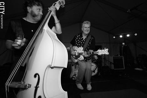 The Lustre Kings played Abilene. - PHOTO BY FRANK DE BLASE