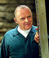 "UNIVERSAL PICTURES - The man who invented shish ke-Bob: - Anthony Hopkins as Hannibal Lecter in ""Red Dragon."""