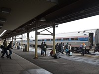 Runaway train station?