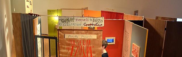 """The Museum of Failure"" at Hartnett Gallery."
