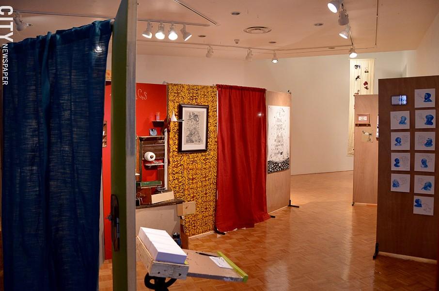 """The Museum of Failure"" at Hartnett Gallery. - PHOTO BY MATT DETURCK"