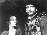 BUENA VISTA PICTURES - The myth is dead: Keira Knightley and Clive Owen in King Arthur.