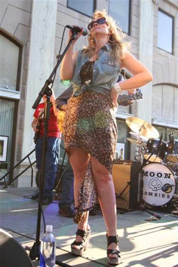 The Natalie B Band played the 2013 East End Festival on Friday, June 14. - PHOTO BY FRANK DE BLASE