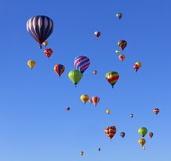 The New York State Festival of Balloons takes place this August in Danville, NY. - FILE PHOTO