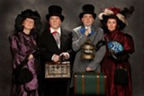 PHOTO BY MARTIN NOTT - The Off-Monroe Players' upcoming production focuses on the dramas of William Gilbert.