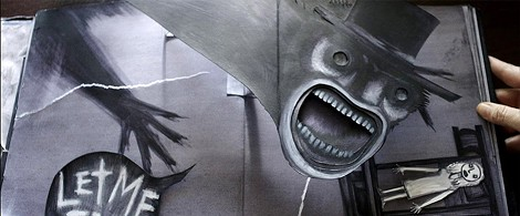 """The pop-up book in """"The Babadook."""" - PHOTO COURTESY IFC FILMS"""