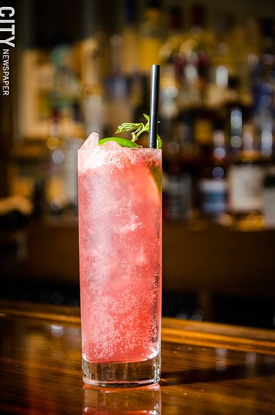 The raspberry mojito. - PHOTO BY MARK CHAMBERLIN