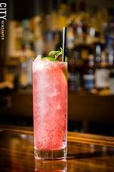 The raspberry mojito. - PHOTO BY MARK CHAMBERLIN