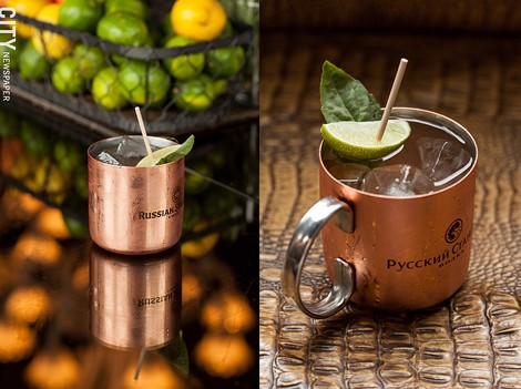 The Revelry features a lengthy craft cocktail list, including the Muay Thai Mule. - PHOTO BY JOHN SCHLIA