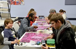 The Rochester Boardgaming Society meets at Milennium Games the third Saturday of every month. - PHOTO BY MATT DETURCK