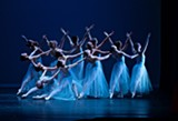 """PHOTO BY WILL BRENNER - The Rochester City Ballet will perform """"Serenade"""" accompanied by the Rochester Philharmonic Orchestra during """"A Night of Dance"""" in March. """"Serenade"""" choreography by George Balanchine © The George Balanchine Trust."""
