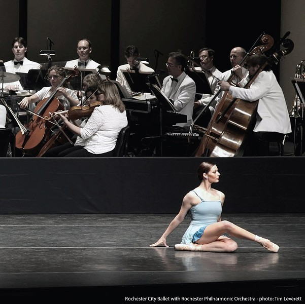 The Rochester City Ballet will perform with the Rochester Philharmonic Orchestra on Friday, May 8, and Saturday, May 9. - PHOTO BY TIM LEVERETT