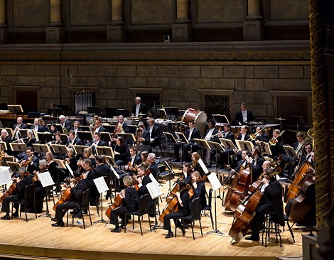 The Rochester Philharmonic Orchestra opened its season, Thursday night, with a performance conducted by Ward Stare, and featuring violinist Midori. The RPO will perform the concert again on Saturday. - PHOTO COURTESY RPO