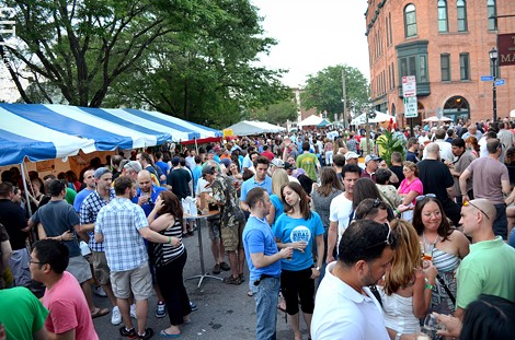 The Rochester Real Beer Expo in the South Wedge, as part of Rochester Real Beer Week. - PHOTO BY MATT DETURCK