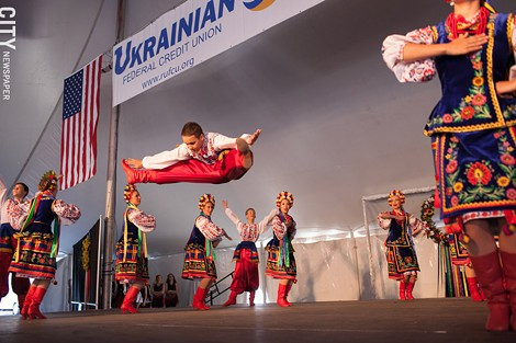 The Rochester Ukranian Festival - PHOTO BY MATT BURKHARTT