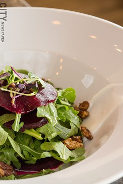 The rockin' beet salad - PHOTO BY JOHN SCHLIA