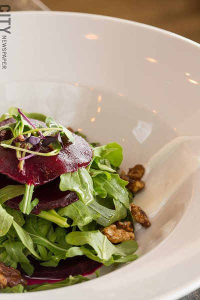 The rockin' beet salad - PHOTO BY JOHN SCHLIA