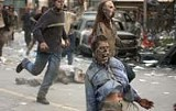 UNIVERSAL STUDIOS - The running of the undead: zombies, not philosophy, reign in Dawn of the Dead.