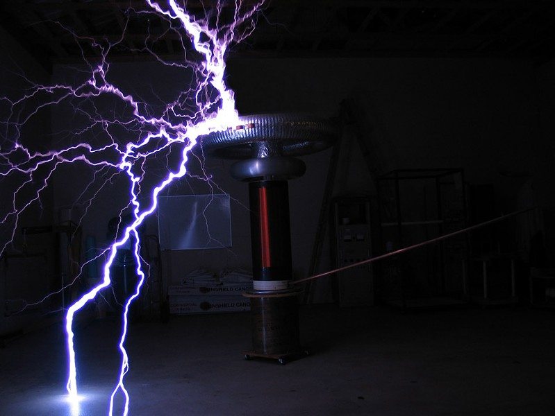 The Singing Tesla Coils at the Rochester Museum and Science Center. - PHOTO PROVIDED