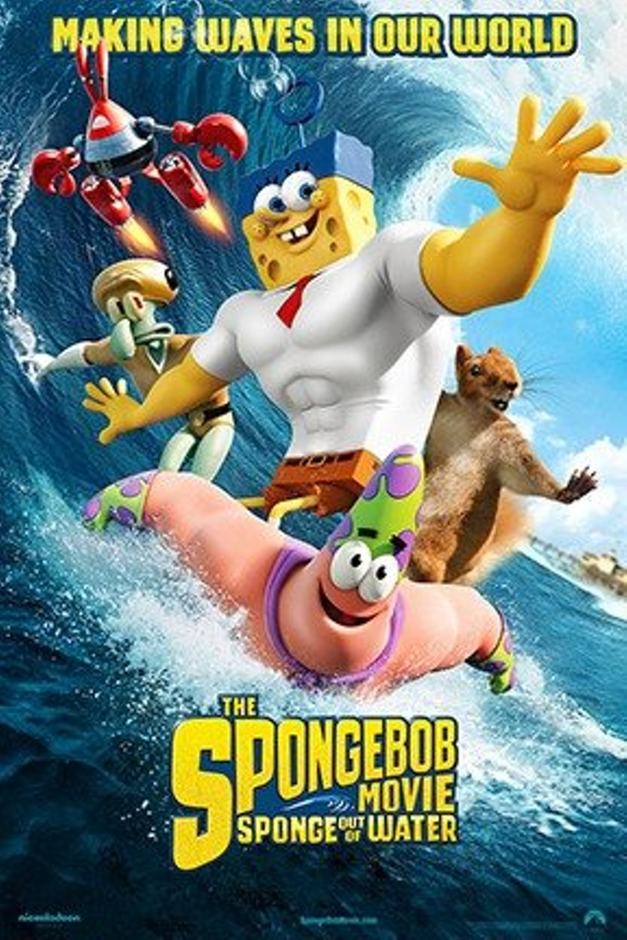 The spongebob movie sponge out of water 3d rochester city newspaper