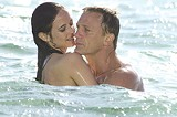 "COLUMBIA/MGM - The spy who hugged me: Eva Green and Daniel Craig in ""Casino Royale."""