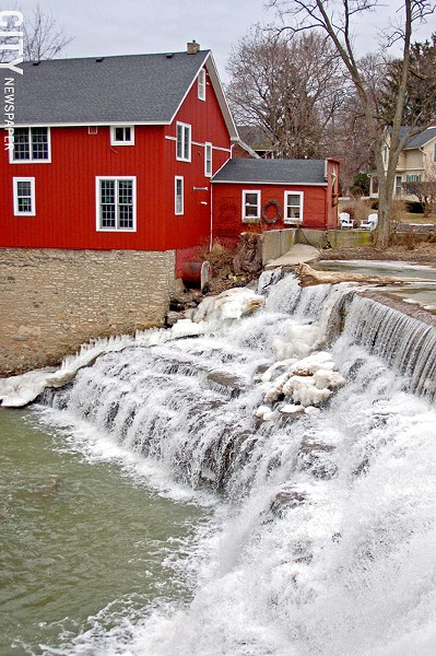 The village of Honeoye Falls is located in Mendon. - PHOTO BY MATT DETURCK