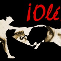 """THEATER: """"Ole!"""" Theater In Asylum presents this show about Federico Garcia Lorca and Salvador Dali as the two Spaniards spar over magic vs. science via paint, poetry, and flamenco dance. (Friday 9/20 9:15 p.m., Saturday 9/21 3 & 8 p.m. at Blackfriars Theatre. $11) PHOTO PROVIDED"""