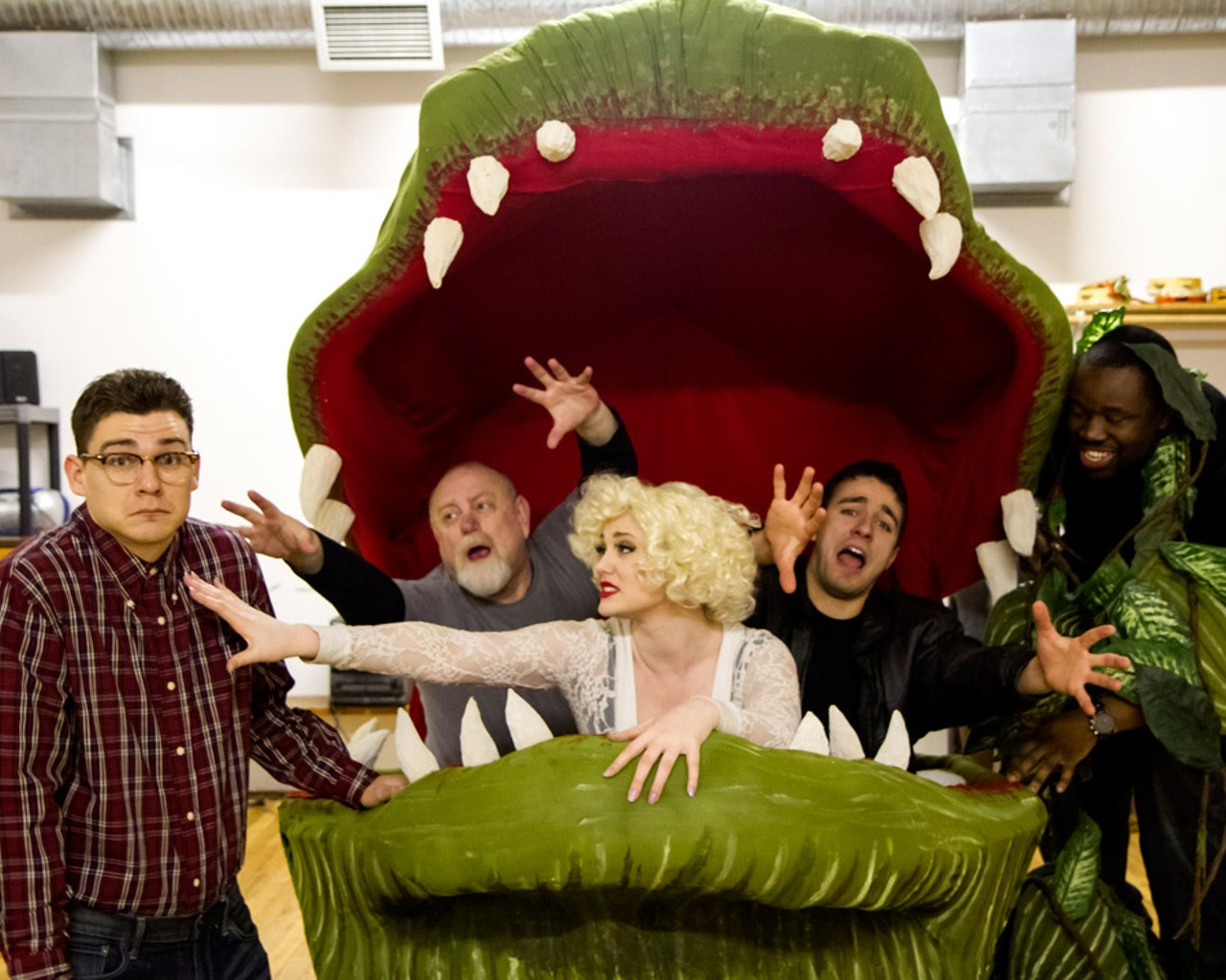 Theater Little Shop Of Horrors Re Invented A Dracula