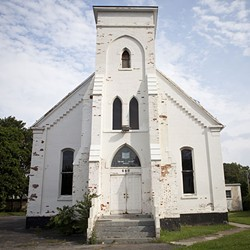 There's a proposal to tear down this former church on West Main and put up a Dollar General. - FILE PHOTO