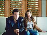 "COLUMBIA TRISTAR - There's Ben, and that's Jen: the loving couple stars in ""Gigli."""