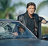 "There's gonna be hell to pay for this: Kurt Russell in ""Dark Blue."""