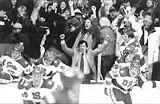 """BUENA VISTA PICTURES - They - said it couldn't be done: Kurt Russell is hockey coach Herb Brooks in - """"Miracle."""""""