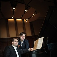 MUSIC: Irrera Brothers This award-winning duo has performed at Carnegie Hall. Pianist Joseph and violinist John are currently getting DMA degrees at Eastman School of Music, but have played all over the world. See them now in their own backyard. (Monday 9/23 8 p.m. at MuCCC. $12) PHOTO PROVIDED