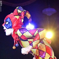 FRINGE SHOWS: Monday, September 23 This dazzling circus show taking place in the equally spectacular Spiegeltent features magic, acrobatics, aerial stunts, feats of strength, music and comedy, and death-defying feats. Not to be missed! (Takes place nightly in the Spiegeltent at Gibbs and Main, with additional matinee on Saturday, 9/28. Tickets cost $31. For more information visit rochesterfringe.com.) PHOTO PROVIDED