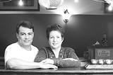 GARY VENTURA - This isn't Tex-Mex: Ricardo and Donna Jordan of Chilango's.