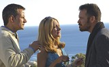 """HOLEDIGGER STUDIOS - Three of the most quietly - electrifying actors around: Campbell Scott, Patricia Clarkson, and Peter - Sarsgaard in """"The Dying Gaul."""""""