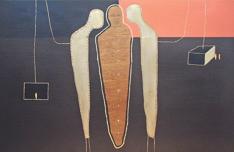 Through October 4, Axom Gallery is hosting new work by Francesca Lalanne. - PHOTO PROVIDED