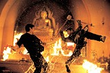 "THE WEINSTEIN COMPANY - Tony Jaa makes a big splash in the - martial arts flick ""The Protector."""