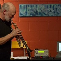 FRINGE SHOWS: Friday, September 27 Trumpet player Al Biles performs alongside the Genetic Jammer, a computer that improvises and riffs. (6:30-7:30pm at Little Theatre Café. FREE.) PHOTO PROVIDED