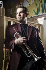 Trumpeter Jamie Gibbs will perform with the Great Lakes Wind Symphony when it makes its debut on Saturday - PHOTO BY MARK CHAMBERLIN
