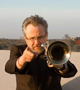 PHOTO BY PAUL GRIGSBY - Trumpeter Mike Kaupa has played with Ray Charles, Mel Torme, and many other jazz luminaries.